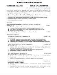 legal affairs officer resume sample   resume writing serviceafter