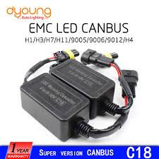 c18 <b>2pcs</b> strengthen LED Headlight Canbus Kit <b>h1 h4</b> h15 9005 ...