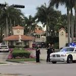 Gunfire erupts Trump resort; police