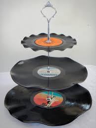 Resultado de imagen para reciclaje con discos de vinilo