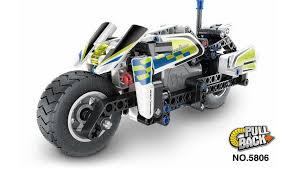 <b>конструктор qihui technics полицейский</b> мотоцикл инерция, 193 ...