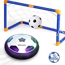 Kids Toys Hover Soccer Ball Set with 2 Goals, Air ... - Amazon.com