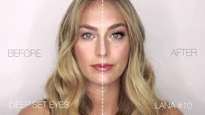 Before & After <b>Huda Beauty</b> False Lashes | Sephora - YouTube