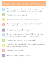 storytelling 101 10 interview questions to get you started oh storytelling 101 10 interview questions creative content writing ideas