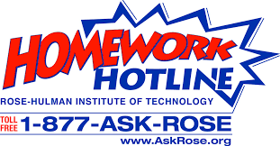 Picture  Ask Rose Link  Rose Hulman Institute of Technology Homework Hotline
