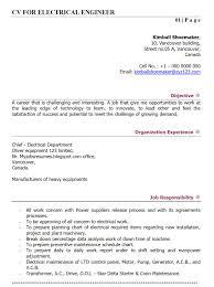sample electrical engineering resume  electrical engineer resume    electrical engineer cv