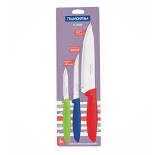 <b>Набор ножей</b> Tramontina plenus <b>3 предмета</b> в блистере ...