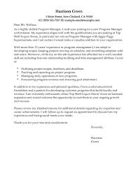 best management cover letter examples   livecareeredit