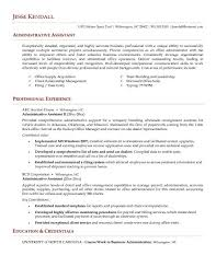 project assistant resume   sales   assistant   lewesmrsample resume  resumes administrative assistant resume objective statement