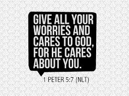 Image result for 1 peter 5:7