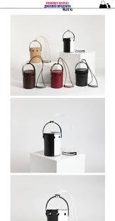 <b>Cover</b> Up Barrel Bag Genuine Leather The <b>Single Shoulder</b> Bag ...