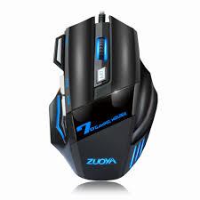2400DPI USB <b>3 Buttons Optical</b> Gaming Game Mouse 7 Colors <b>LED</b> ...