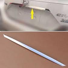 S/сталь Нижняя отделка <b>багажного</b> отделения <b>хромированная</b> ...