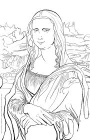 Small Picture Free Art History Coloring Pages Famous Works of Art