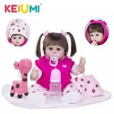 <b>24inch 60cm</b> long black hair NPK dolls toy toys <b>reborn</b> babies dolls ...