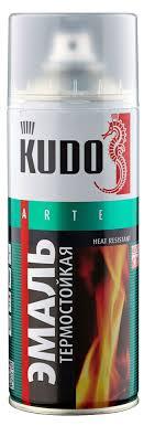 Купить <b>Эмаль KUDO термостойкая</b> черная, 520 мл с доставкой ...