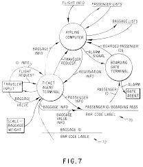 patent ep  a   traveler security and luggage control system    patent drawing