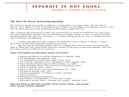 separate is not equal brown vs board of education th th separate is not equal brown vs board of education 5th 10th grade lesson plan lesson planet