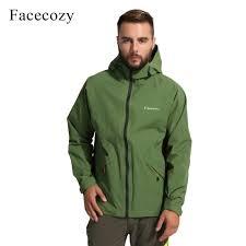 1756 DYL9Y0 <b>Facecozy Men</b> Autumn Waterproof Hiking Jackets ...
