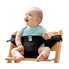 Portable <b>Baby</b> Seat <b>Dining Chair</b> Seat Belt, Easy to Use Fit Chair ...