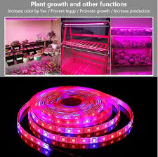 LED <b>Plant Grow Strip Light</b> with Power Adapter,Full Spectrum SMD ...