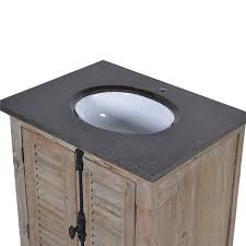 bathroom vanity unit marble top louvred door single sink bathroom vanity unit black marble top