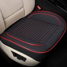 <b>KKYSYELVA</b> Universal Pu Leather <b>Car Seat</b> Cover Cushion ...