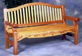 wood bench in wood redwood and cedar outdoor woods shown cedar bench plans