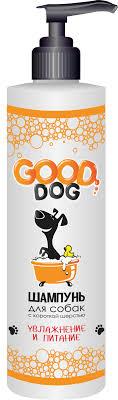 <b>Good Dog</b> Шампунь для собак с короткой шерстью (<b>увлажнение и</b> ...