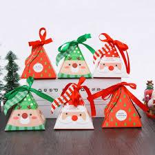10 PCS/Set <b>Merry Christmas Candy</b> Box <b>Bag</b> Christmas Tree Gift ...