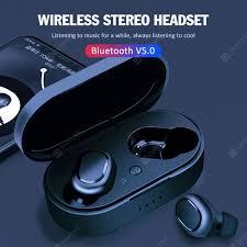 <b>M1</b> Ture Wireless Headset Bluetooth 5.0 TWS Earbuds Mini In-ear ...