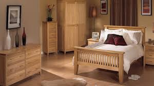 f unfinished oak wooden bedroom furniture with solid slats end footboard and custom wood sideboard by six drawers of small bedrooms ideas pictures bedroom sideboard furniture