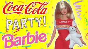 Coca-Cola <b>Party</b> Barbie 1998/Review/ Обзор и распаковка куклы ...