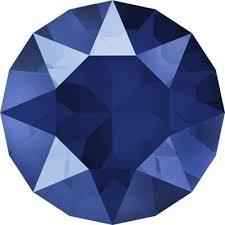 <b>1088</b> SS29 <b>Стразы Сваровски</b> 6 14 мм, синий лак royal blue ...