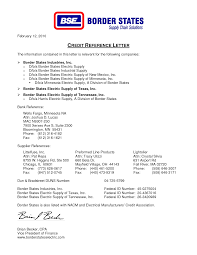 credit reference letter printable documents credit reference letter