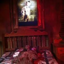 the tombstone haunted house at the wilderness resort in wisconsin dells check haunted house