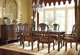 Traditional Formal Dining Room Sets Valencia Traditional Formal Pedestal Dining Room Home Decor
