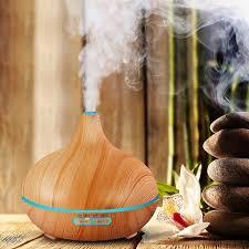 <b>400ml Ultrasonic Humidifier</b> Home Aroma Humidifier <b>Air</b> Diffuser ...