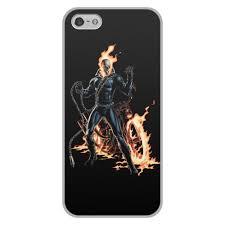 Чехол для iPhone 5/5S, объёмная печать <b>ПРИЗРАЧНЫЙ</b> ...