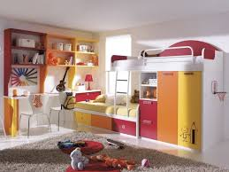 delightful loft bed with two sections desk underneath bedroom modern space saving beds for bedroom photo 4 space saver