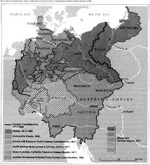 background napoleonic was the western neighbor of this complex and empire hungry russia was its eastern neighbor the pressure for some form of unification