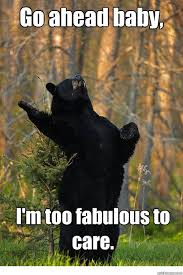 Fabulous Bear memes | quickmeme via Relatably.com