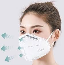 China Style 4/5/<b>6 Ply</b> High Filtration <b>KN95</b> FFP2 <b>N95</b> Folded Facial ...