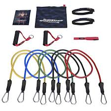 FLASH SALE! - <b>Resistance Bands</b> - <b>11pc Set</b> - Door Anchor ...