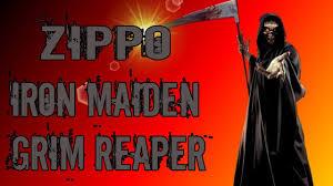 <b>Зажигалка Zippo</b> Iron Maiden Grim <b>Reaper</b>. Обзор. - YouTube