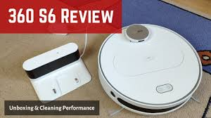 <b>360 S6 Robot</b> Vacuum Review: Unboxing and Cleaning Test ...