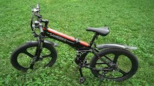 <b>Samebike LO26 Smart</b> Folding Moped Electric Bike E-bike for $599.78