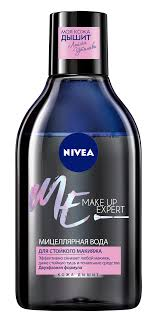 <b>мицеллярная вода nivea</b>® <b>make</b> up expert для стойкого макияжа