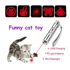 Pet Supplies 2 in 1 Pet Play <b>Funny Cat</b> Toy LED <b>Light</b> Red Laser ...