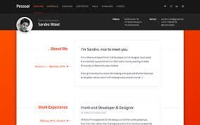 s Top    Professional Resume Templates  amp  Curriculum Vitae     Pessoal     Modern Resume Theme